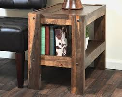 reclaimed wood end table rustic gray whitewash reclaimed wood end table side coastal