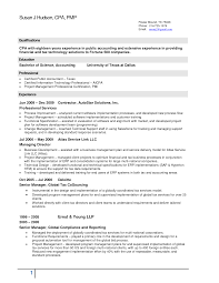 Staff Accountant Resume Example by Project Accountant Resume Resume For Your Job Application