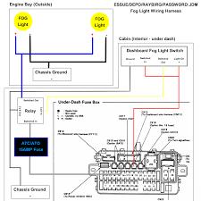 2005 honda civic fog light wiring diagram image details