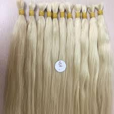 hair color over 60 double draw straight bulk blond hair color 60 75 cm ivirgo hair