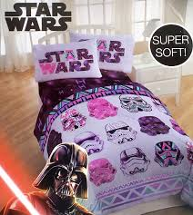 amazon com star wars girls 4 piece bedding set reversible