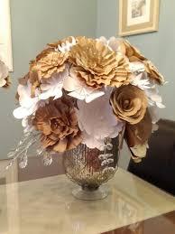 paper flower centerpieces paper flower centerpiece weddingbee