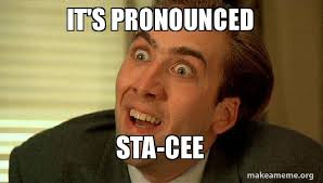 Meme Pronounced - it s pronounced sta cee make a meme