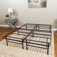 modern sleep hercules heavy duty 14 inch platform metal bed frame