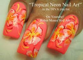 tropical nail designs google search hair makeup nails etc