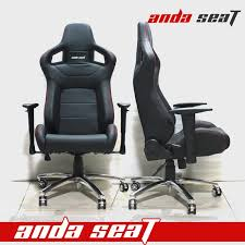 Racing Seat Desk Chair All Black Racing Seat Office Chair Wide Office Chair Ad 2 Pvc