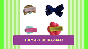 baby hair clip ultra safe hair for baby by charis kid