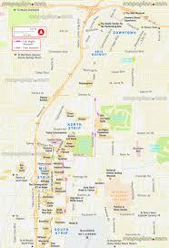 Treasure Island Map Las Vegas Map Free Tram Light Rail U0026 Monorail Map Showing