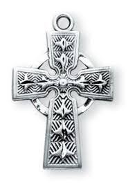 celtic crucifix sterling silver celtic crucifix catholic shoppe usa