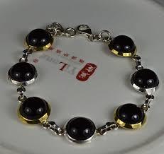 black onyx silver bracelet images Black onyx silver bracelet best bracelets jpg