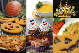 touch and feel foods for a halloween party synonym