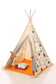tente de chambre tipi enfants jouer dentelle wigwam tente tipi pour enfants tipi
