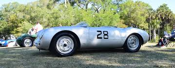 porsche 550 spyder kiawah 2016 highlights 1955 porsche 550 spyder ingram collection
