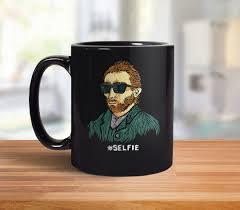 Funny Coffee Mugs by Van Gogh Mug Funny Coffee Mug Van Gogh Gift Hipster
