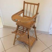 chaise haute b b en bois chaise bebe bois ancienne chaise haute bebe enfant en bois massif