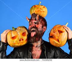 October Decorations Blue Demon Stock Images Royalty Free Images U0026 Vectors Shutterstock