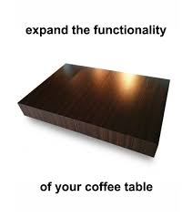 coffee table that adjust to your needs expand furniture