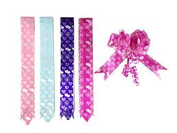 pull ribbon 18mm pp prinnted butterfly ribbon bow 90u 200u thickness