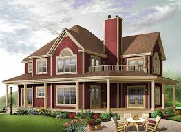 House With Wrap Around Porch by Wonderful Wrap Around Porch 21558dr Architectural Designs