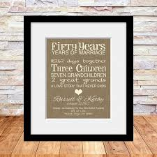 50th anniversary gift ideas for parents delighful 50 wedding anniversary gift ideas wi 1117 johnprice co