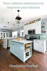 kitchen cabinets wall extension four cabinet extensions to improve your kitchen