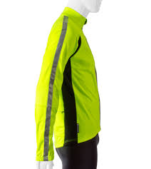 softshell bike jacket atd high visibility full zip softshell cycling jacket w 3m