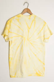 light yellow t shirt light yellow tie dye tee shirt ragstock