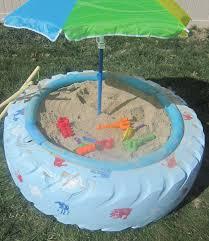 Backyard Sandbox Ideas Make A Sandbox With A Tire I Nap Time