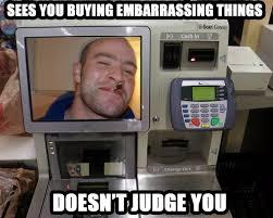 Self Checkout Meme - good guy self checkout meme guy