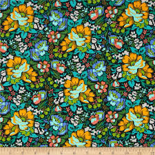 designed by anna maria horner for free spirit this cotton print
