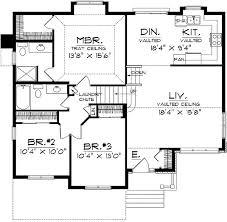 side split house plans 15 split level house plans small bi home plan homely design