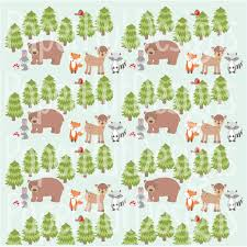 squirrel wrapping paper forest animals digital papers woodland animals digital scrapbook