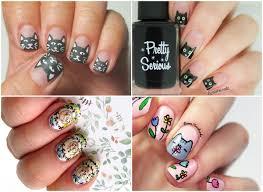 15 nail arts increíbles para las amantes de los gatos imujer