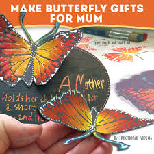 butterfly gifts how to make butterfly crafts for as gifts