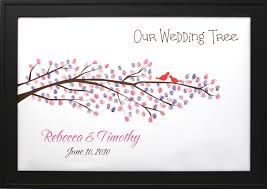 wedding tree wedding tree no 5 thumbprint guestbooks thumbprint wedding trees