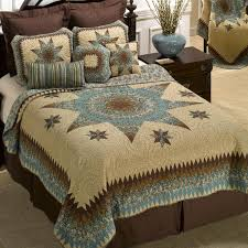 sea breeze star quilted bedding collection
