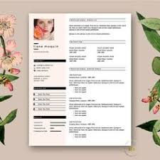 resume template 4page milky way by the resume boutique on