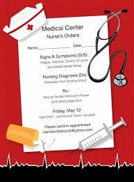 nursing graduation announcements templates cheap registered graduation announcements with