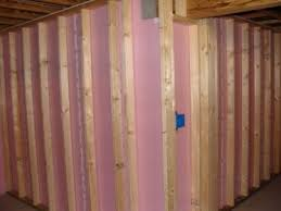 Insulating Basement Walls With Foam Board by Putting Up Xps On Basement Walls Insulation Diy Chatroom Home