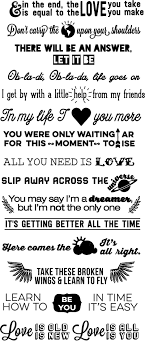 you probably need these amazing beatles lyrics stair decals the