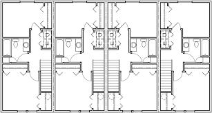 townhouse plans narrow lot captivating wide house plans images best ideas exterior oneconf us