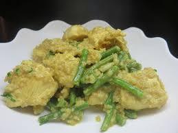 cuisiner des haricots verts frais poulet au curry haricots verts et quinoa mercredirose