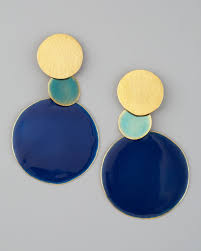 herve van der straeten pastilles dot earrings in lyst