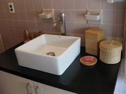 bathroom captivating small bathroom decoration using square cream