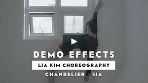 Sia Video Chandelier by Demo Effects Lia Kim Choreography Chandelier Sia On Vimeo