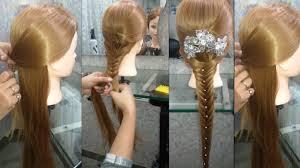 Style At Home How To Do Simple And Easy Hair Style At Home Hair Style At Home