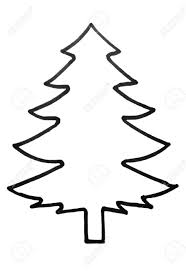 pine tree outline free coloring pages on art coloring pages