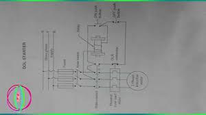 dol starter circuit diagram books direct online starter youtube