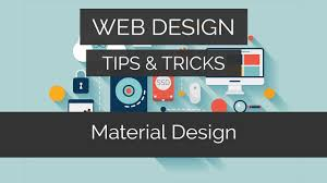 design website how to make a material design website in seconds web design tips