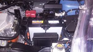 instructions for replacing the 12v battery on the leaf group 51r